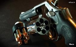 Gun With Set Of Bullet Wallpaper For Desktophigh Resolution And Hd