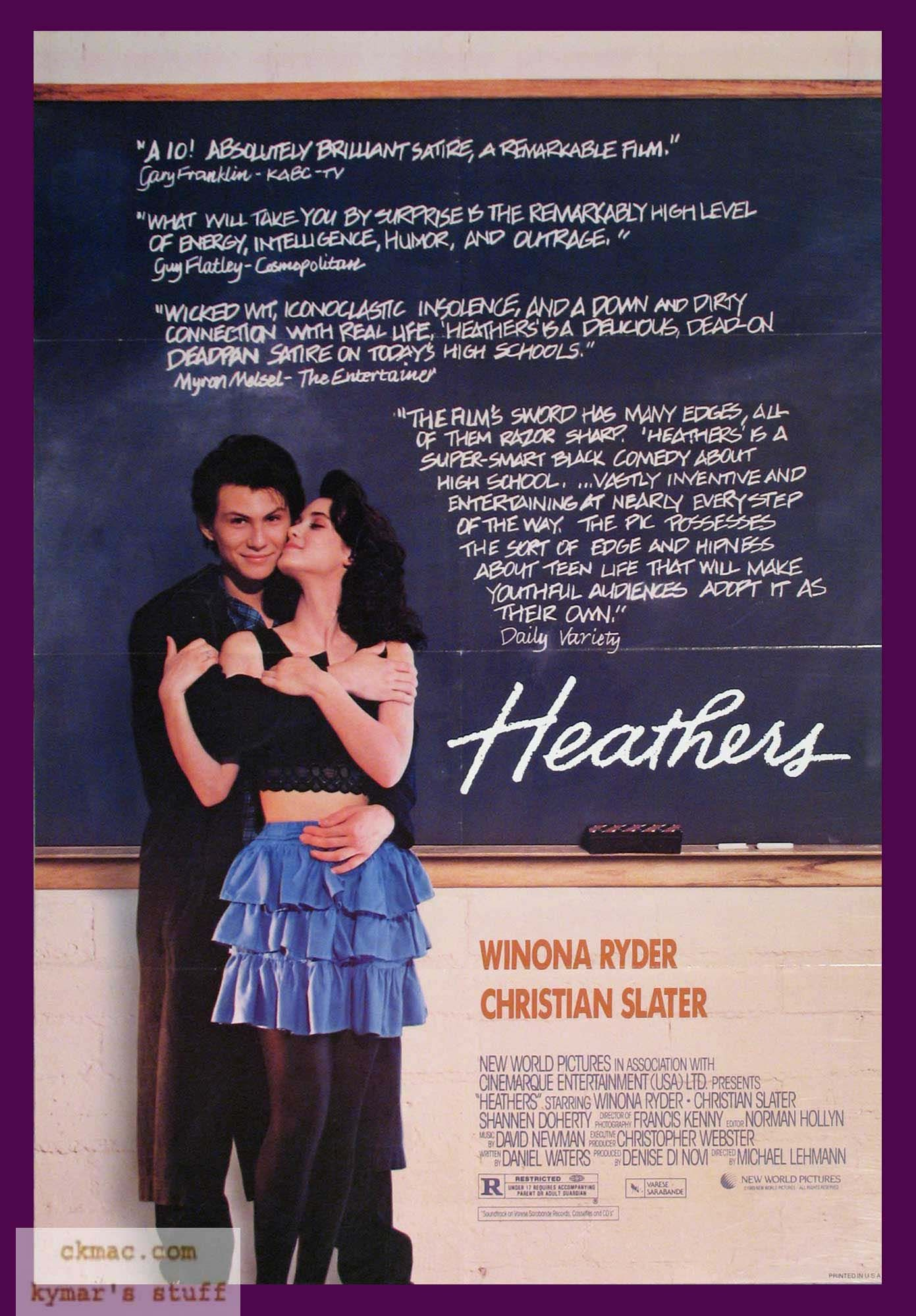 Heathers is a super smart black comedy about high school greetings heathers is a super smart black comedy about high school greetings and kristyandbryce Gallery
