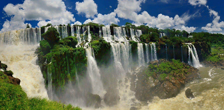 Fotografía Panorámica Cataratas Del Iguazú De Lisardo Maggipinto En Fotonat Org Fotografía Panorámica Cataratas Del Iguazu Argentina Cataratas Del Mundo