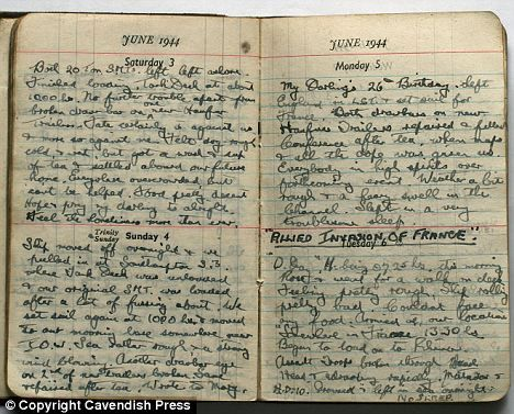 Image result for diary entry WW2