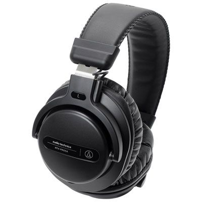 Audio Technica ATH-PRO5X Over-Ear Sound Isolating Headphones - Black #audioheadphones