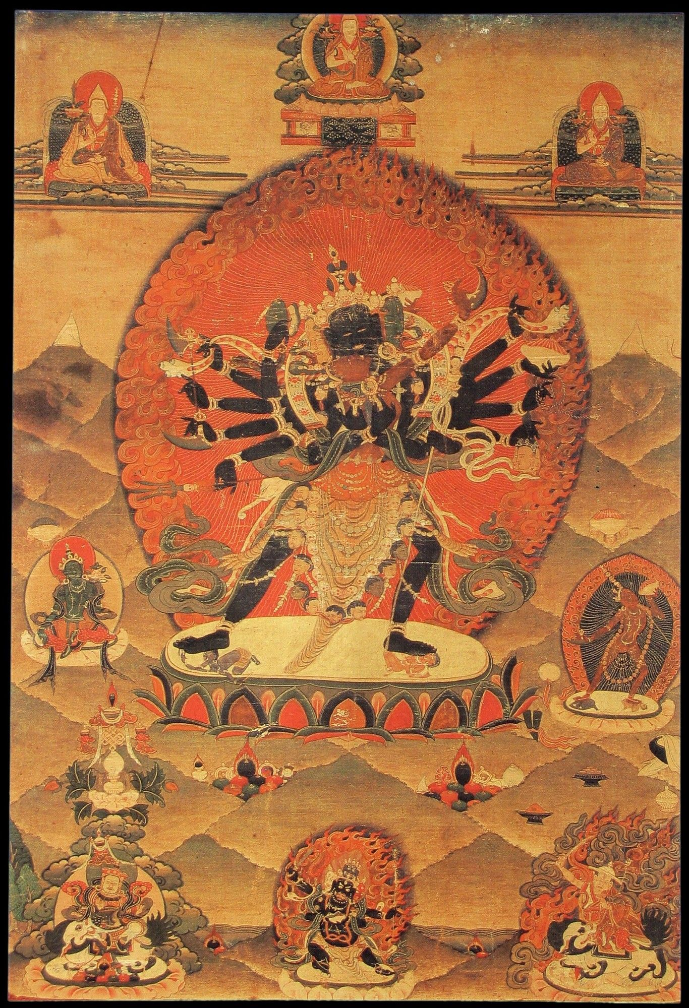 Beautiful ancient Tibetan art to share with you | Art