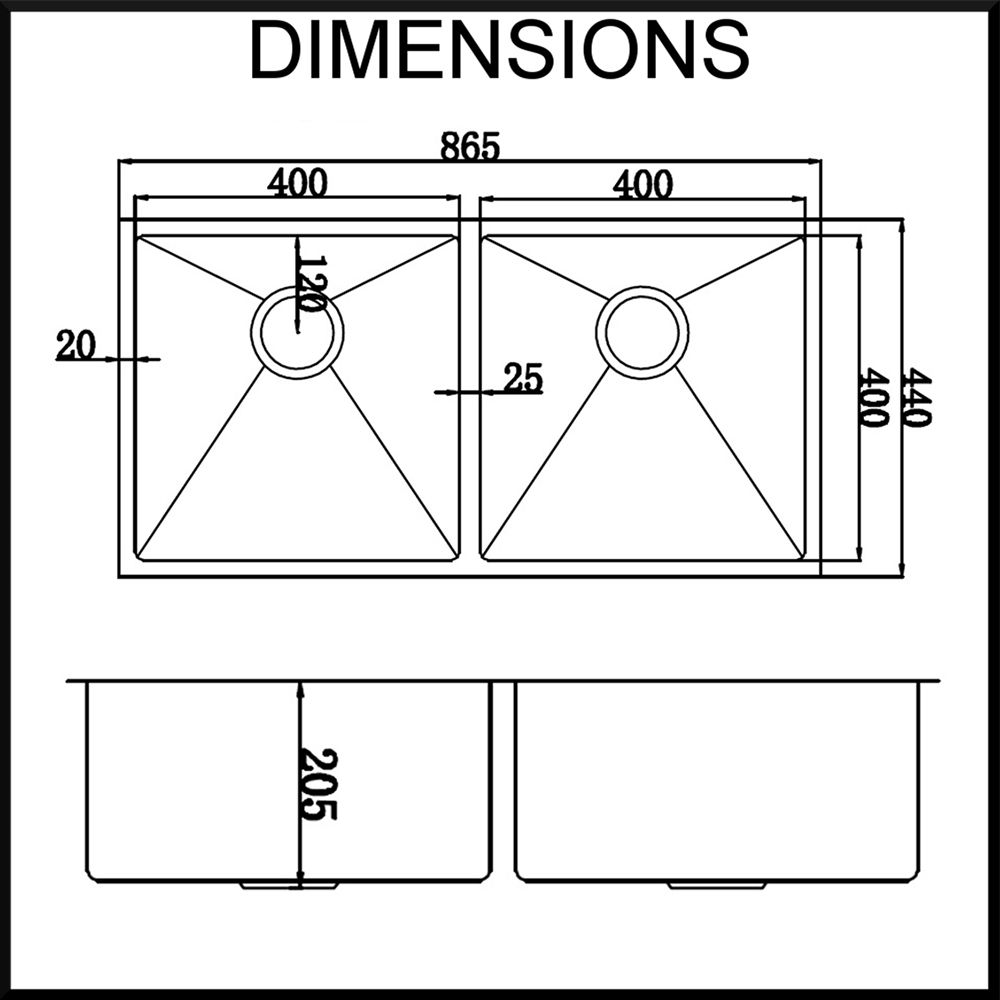 Image Result For Undermount Sink Sizes Metric Kitchen Sink Sizes