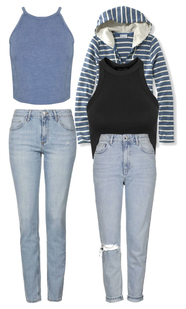 """""""Sin título #2028"""" by annie-leah on Polyvore featuring moda, Miss Selfridge, Topshop y L.L.Bean"""