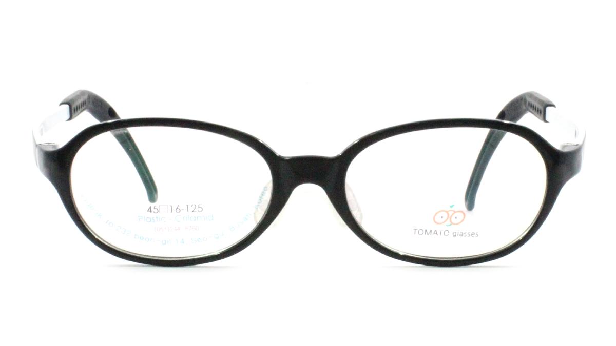 TOMATO TJAC_45-16: BLACK / WHITE ☆ Oval ☆ Full Frame ☆ GRILAMIDE ...