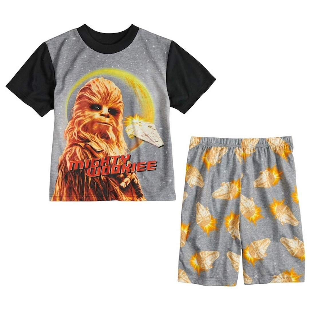 Boys Chewbacca 2-Piece Pajama Set