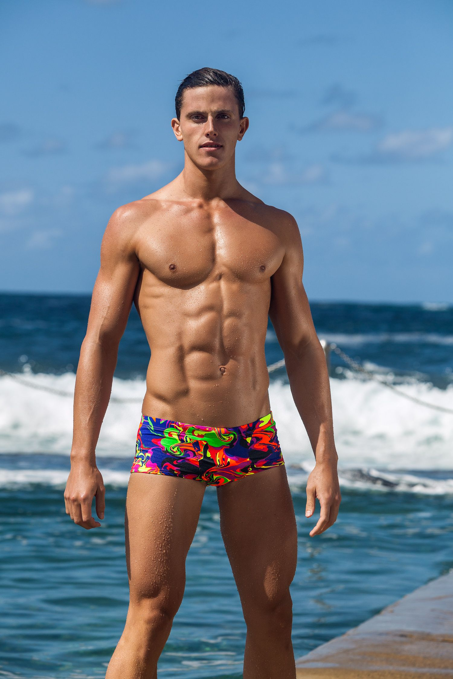 ed238af59b Funky Trunks Liquefied Classic Trunks | Captivation | Swimwear ...