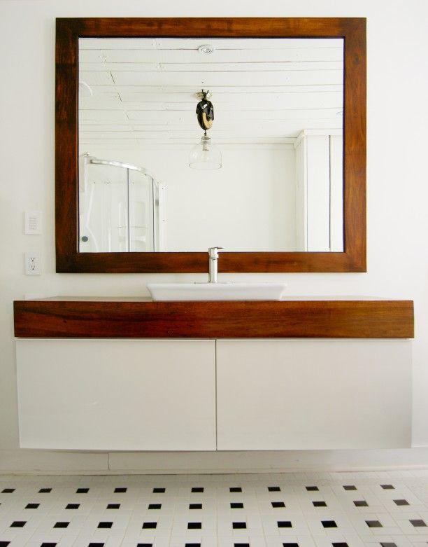 Un meuble de salle de bain unique (avec lu0027aide du0027IKEA) Ikea hack - ikea meuble salle de bain godmorgon