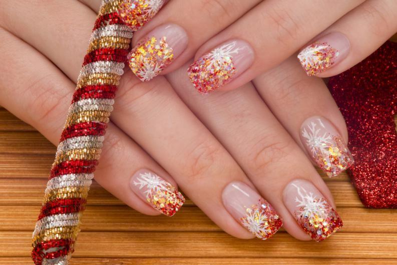 Fotos de uñas de acrílico decoradas | La uña, Esmalte y Cambio