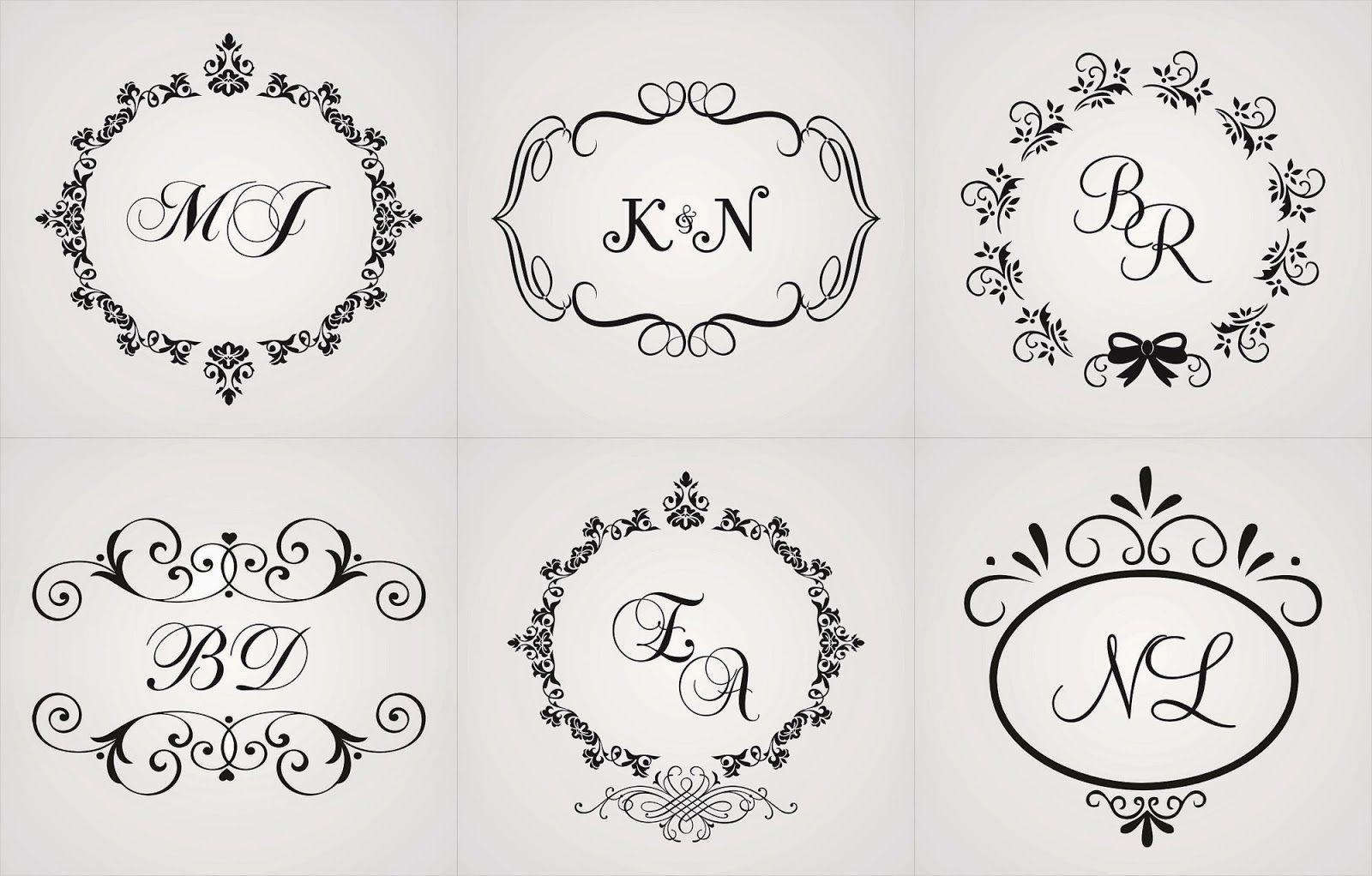 monogramas letras g m - Pesquisa Google