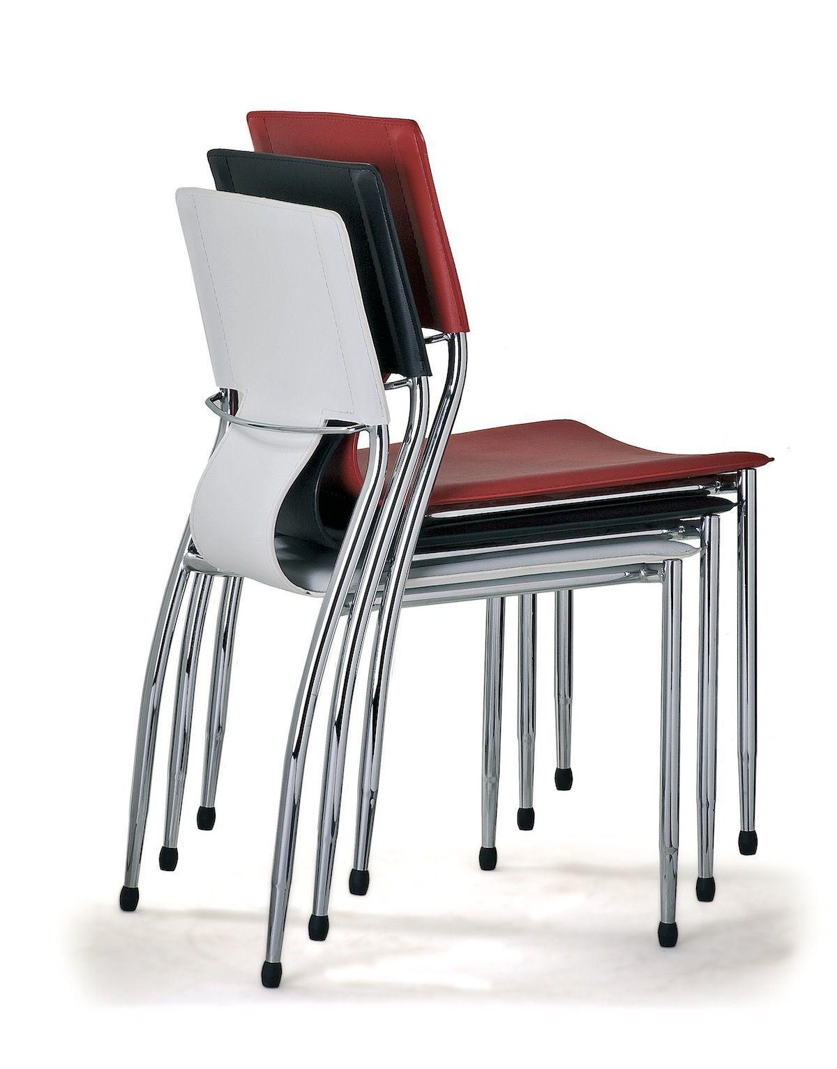 4 sedie per sala conferenza riunione o attesa JLOG4P ...