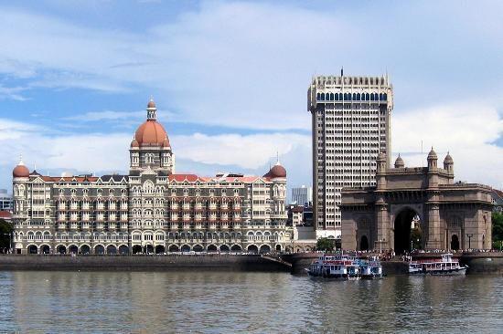 Mumbai India Mumbai City Taj Mahal Taj Mahal India