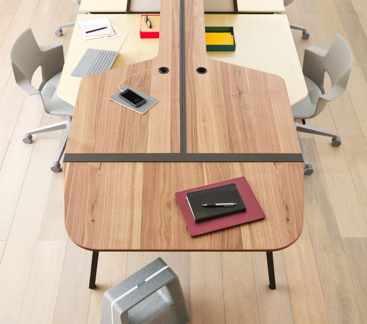 Bivi Collection of Modular Office Desk Systems | Modular office