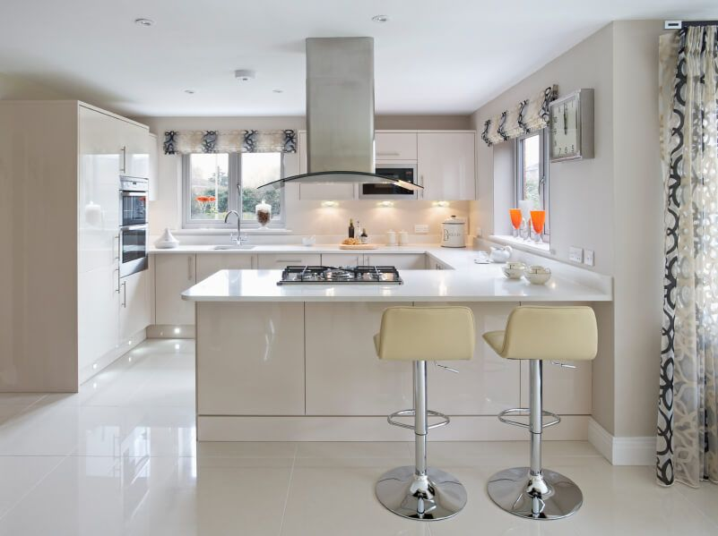 23 Gorgeous G Shaped Kitchen Designs Images G Shaped Kitchen