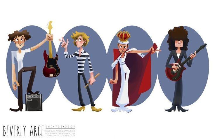 Queen by Beverly Arce Queen drawing, Queen art, Queen ii