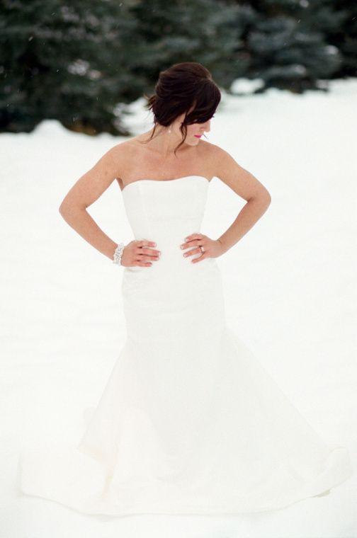 Domestic Ingenuity  Winter Wedding Photos