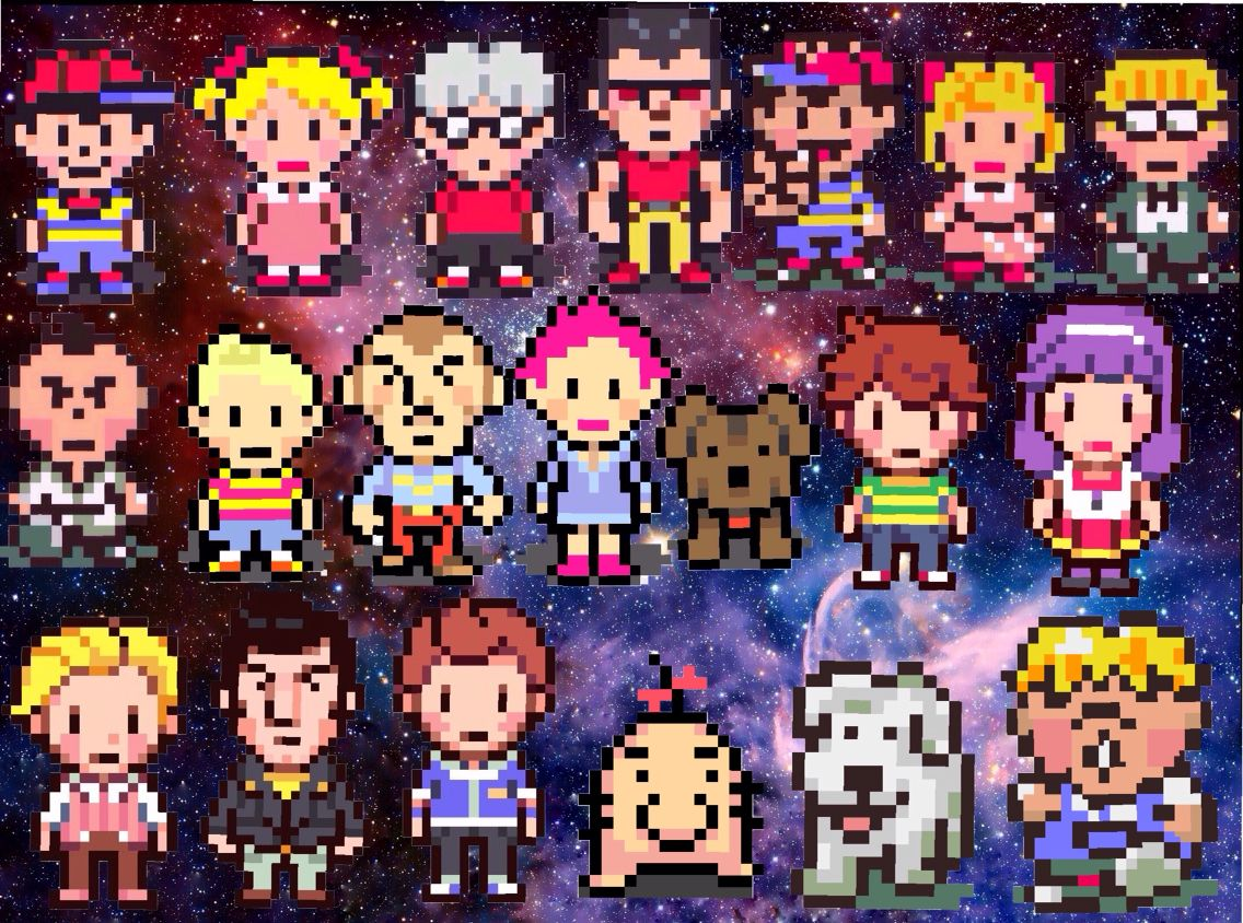 This Is An Earthbound Mother Wallpaper I Made It Took 3 Hours To Make So Please Consider Dowloading It Wallpaper Vault Boy Art