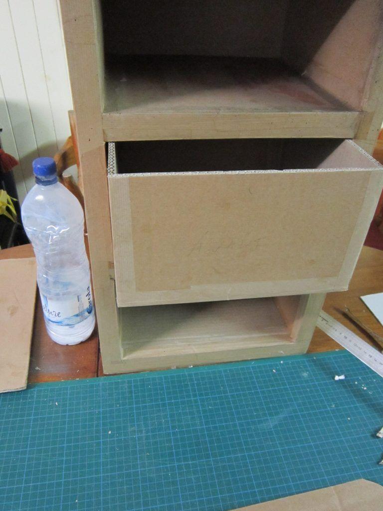 Fabriquer Une Bibliothèque En Carton comment fabriquer un tiroir en carton (tuto | fabriquer un