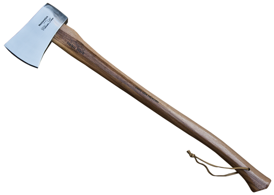 Forester Wood Tools Boiled Linseed Oil Finish Hand Axe