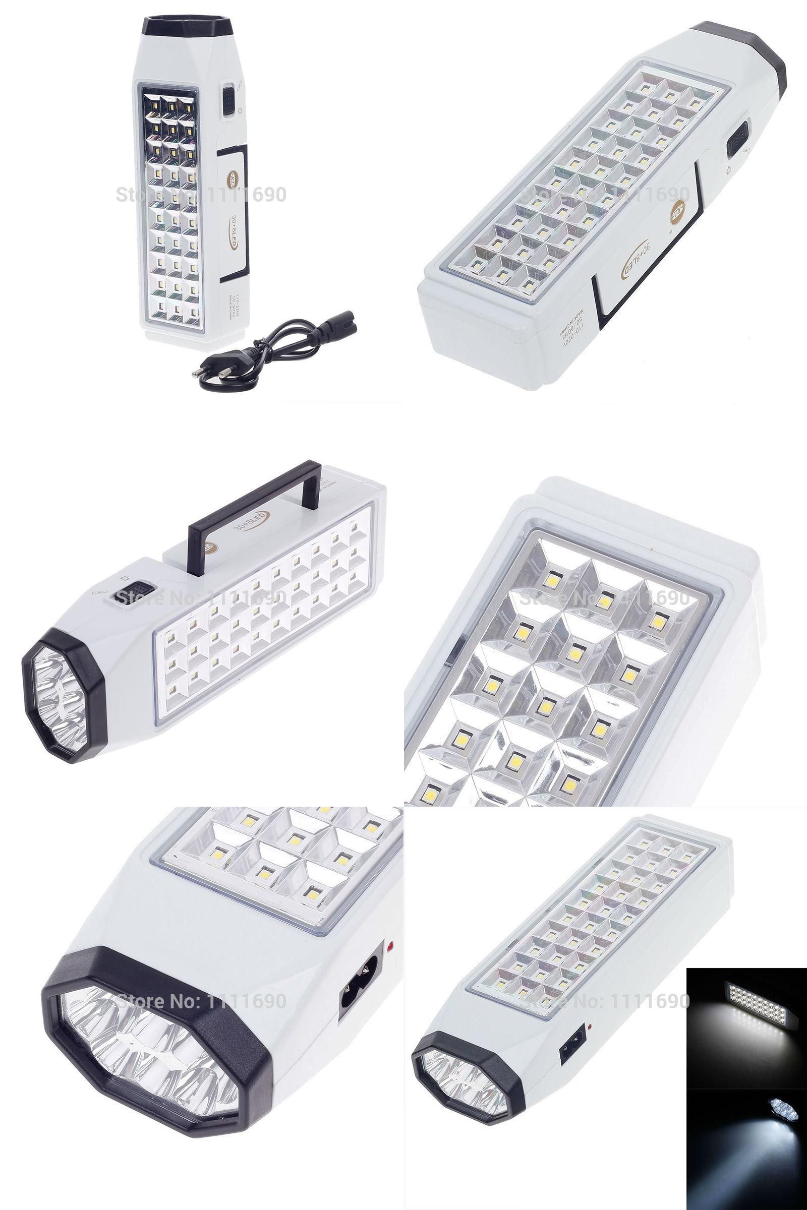 Visit To Buy Led Rechargeable Flashlight Emergency Light Lamp