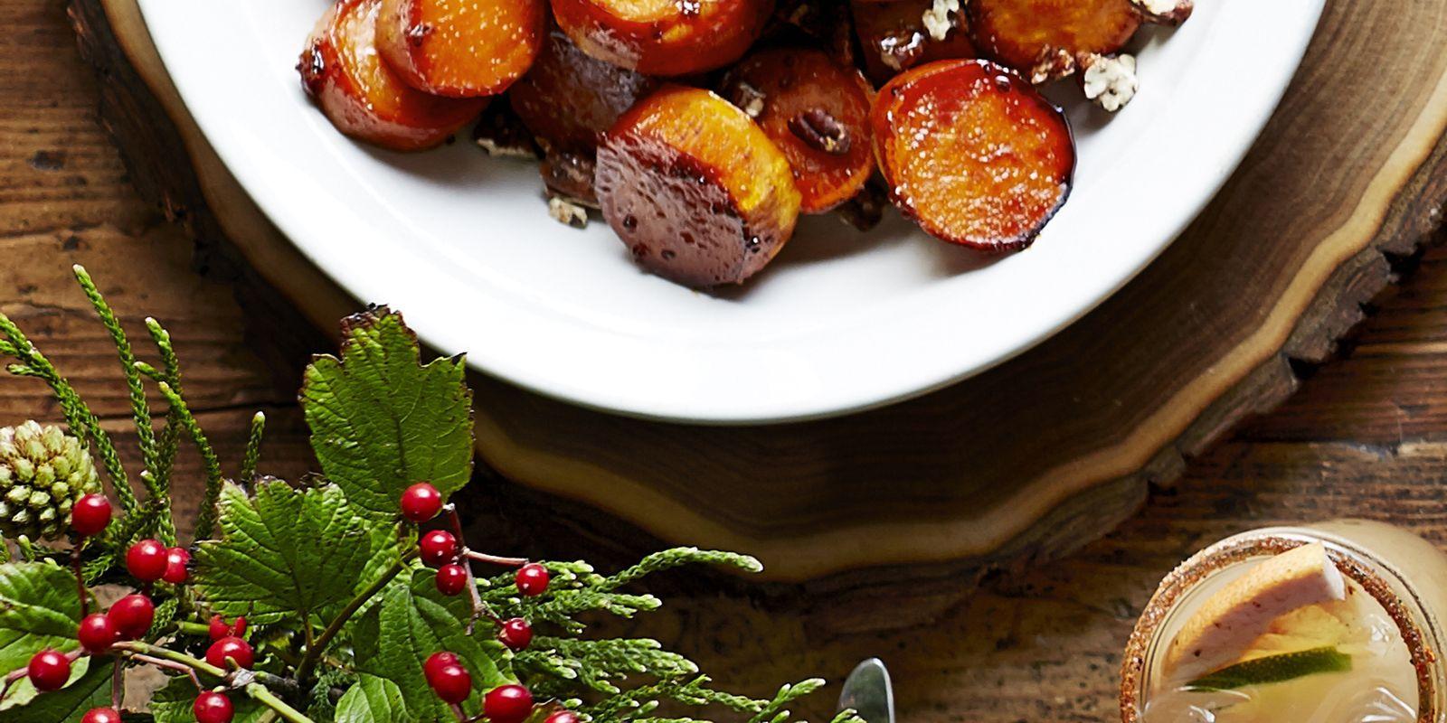 Sorghum-Glazed Sweet Potatoes foto