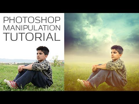 Photoshop Photo Manipulation Tutorial | Soft Light Effects - YouTube