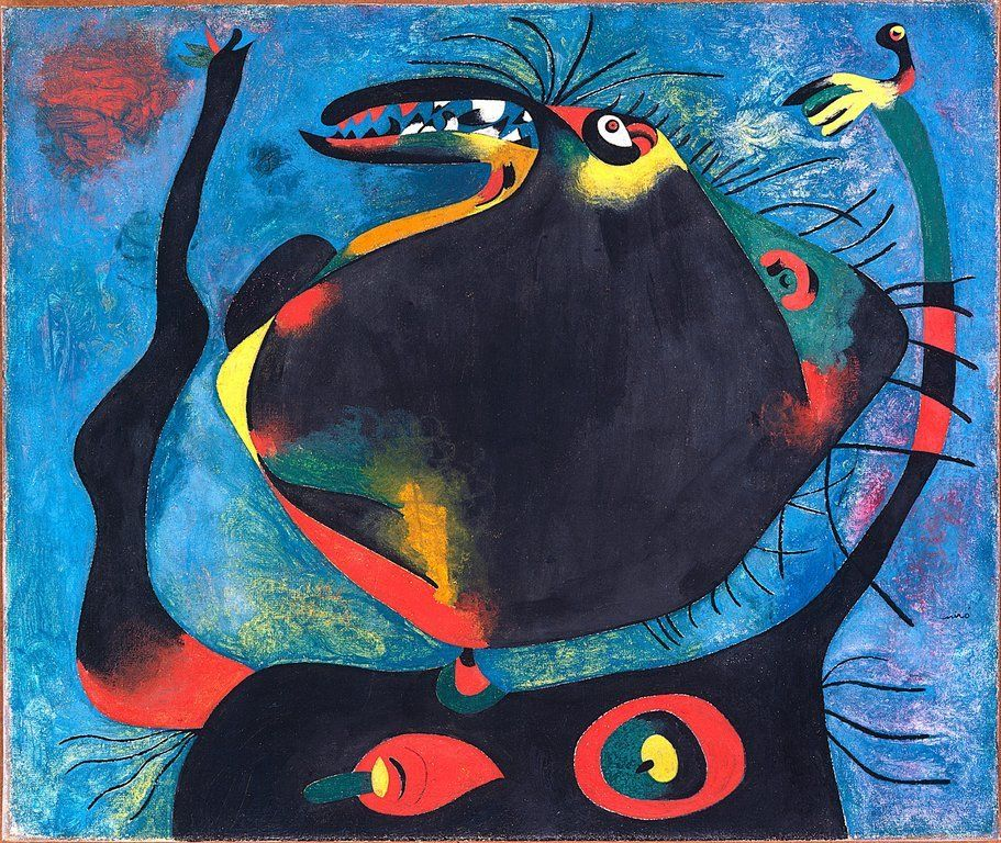 Gallery For Miro Paintings | Miro art | Pinterest | Oil on canvas ...