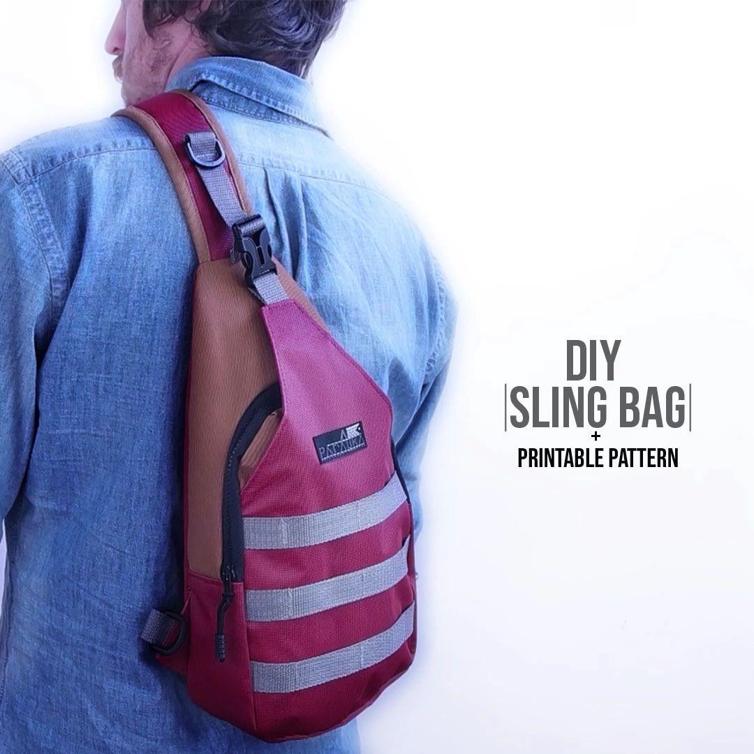 Sling Bag DIY + Printable Pattern