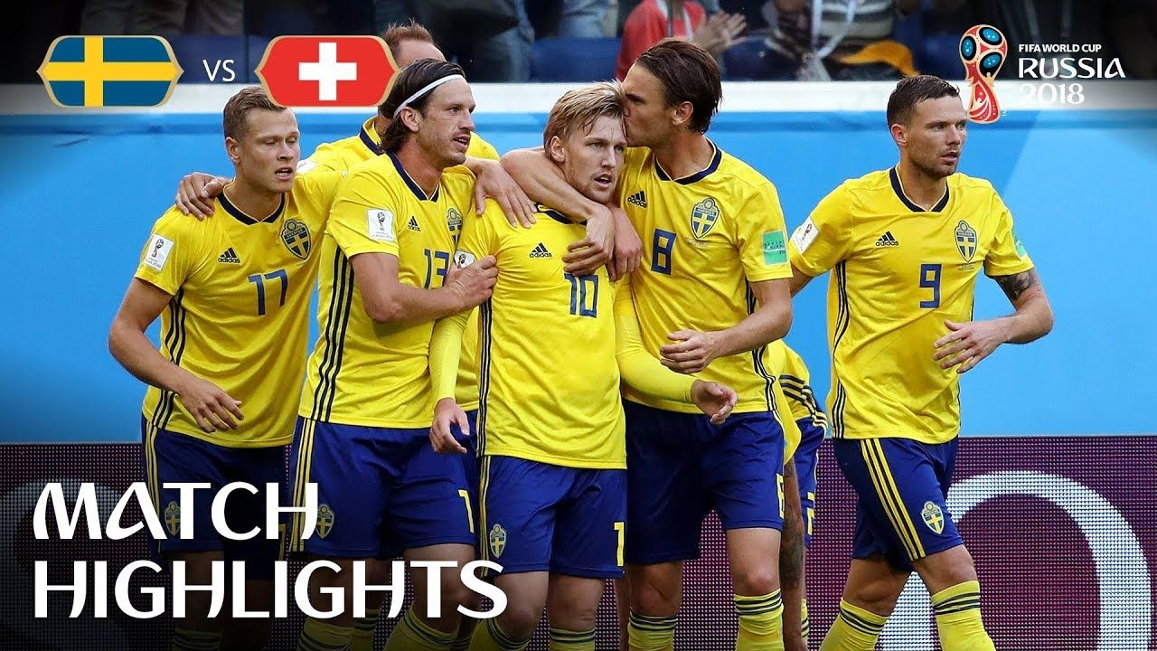 Sweden v Switzerland 2018 FIFA World Cup Russia™ Match