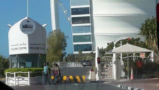 Entrance to Burj Al Arab