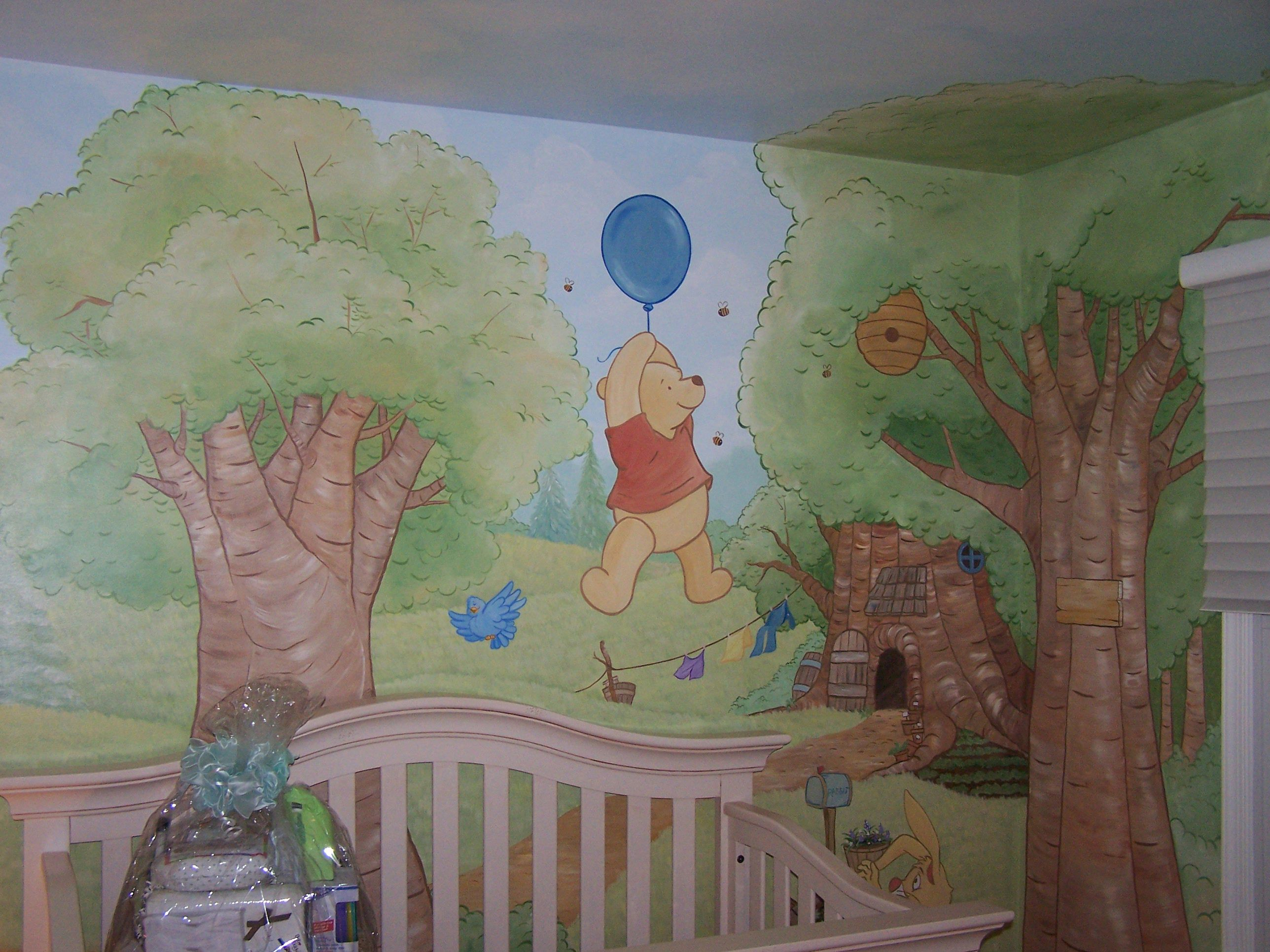 Hundred Acre Wood Baby Ideas Wood Nursery Disney