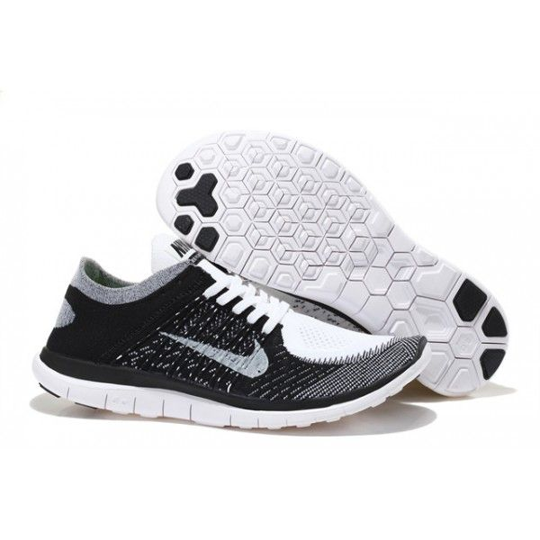 Our Nike Shoes store offered cheap 2016 Nike Mens Womens Free Flyknit Black  White Grey Running Shoes with big discounts.