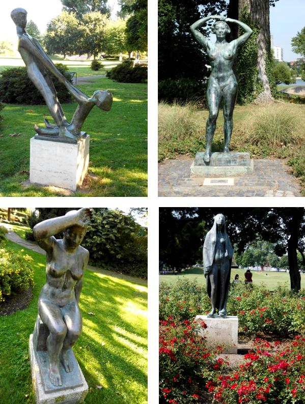 Kolner Ecken Impressionen Aus Dem Rheinpark In Koln Denkmal Impressionen Statuen
