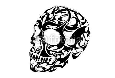 Pin By Dee Bee On Gothic Inspiration Skull Stencil Tribal Skull Skulls Drawing