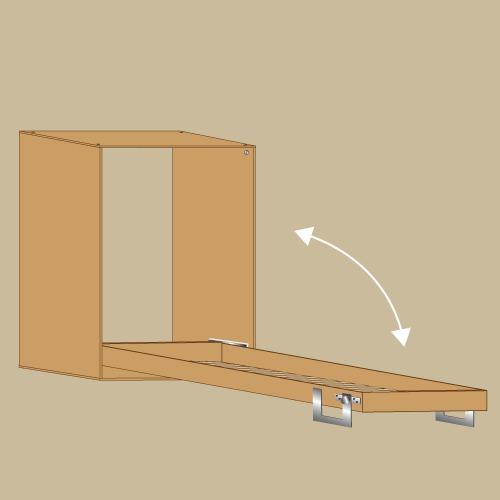 Comment Fabriquer La Structure D Un Lit Escamotable Lit Escamotable Diy Lit Escamotable Lit
