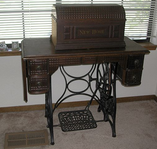 New Home Sewing Machine Google Search Vintage Sewing Machine Extraordinary Antique New Home Treadle Sewing Machine Value