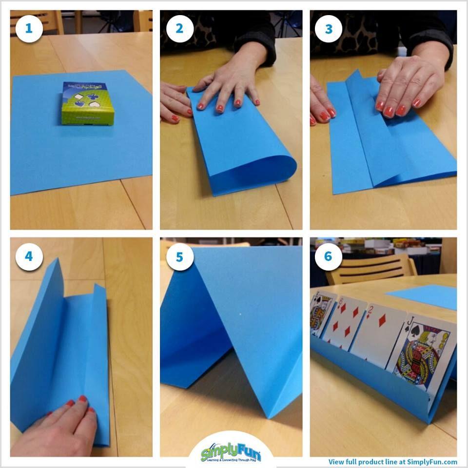 Simplyfun Educational Award Winning Board Games Playing Card Holder Diy Playing Cards Diy Kids Games
