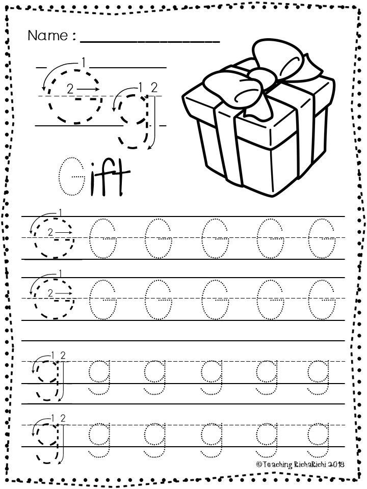 Free Abc Tracing Worksheets Alphabet A Z Upper And Lower Case 01 Di 2020