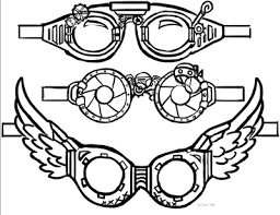 Image result for steampunk goggles clipart   Steampunk ...
