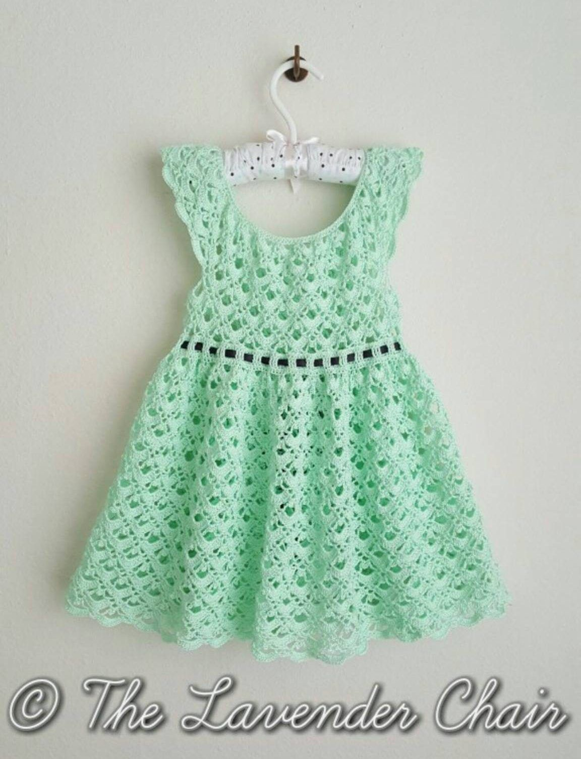 How To Crochet Toddler Dress Free Pattern Winding Road Crochet Crochet Toddler Dress Crochet Baby Clothes Crochet Baby Dress Pattern