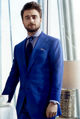 Daniel Radcliffe photographed by Alan Clarke for InStyle Man (Russia)