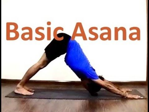10 basic asanas part 1  yoga for beginners  youtube