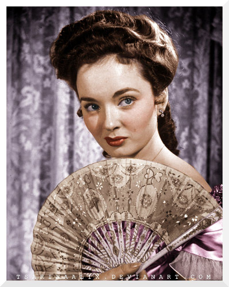 The Lady With The Fan