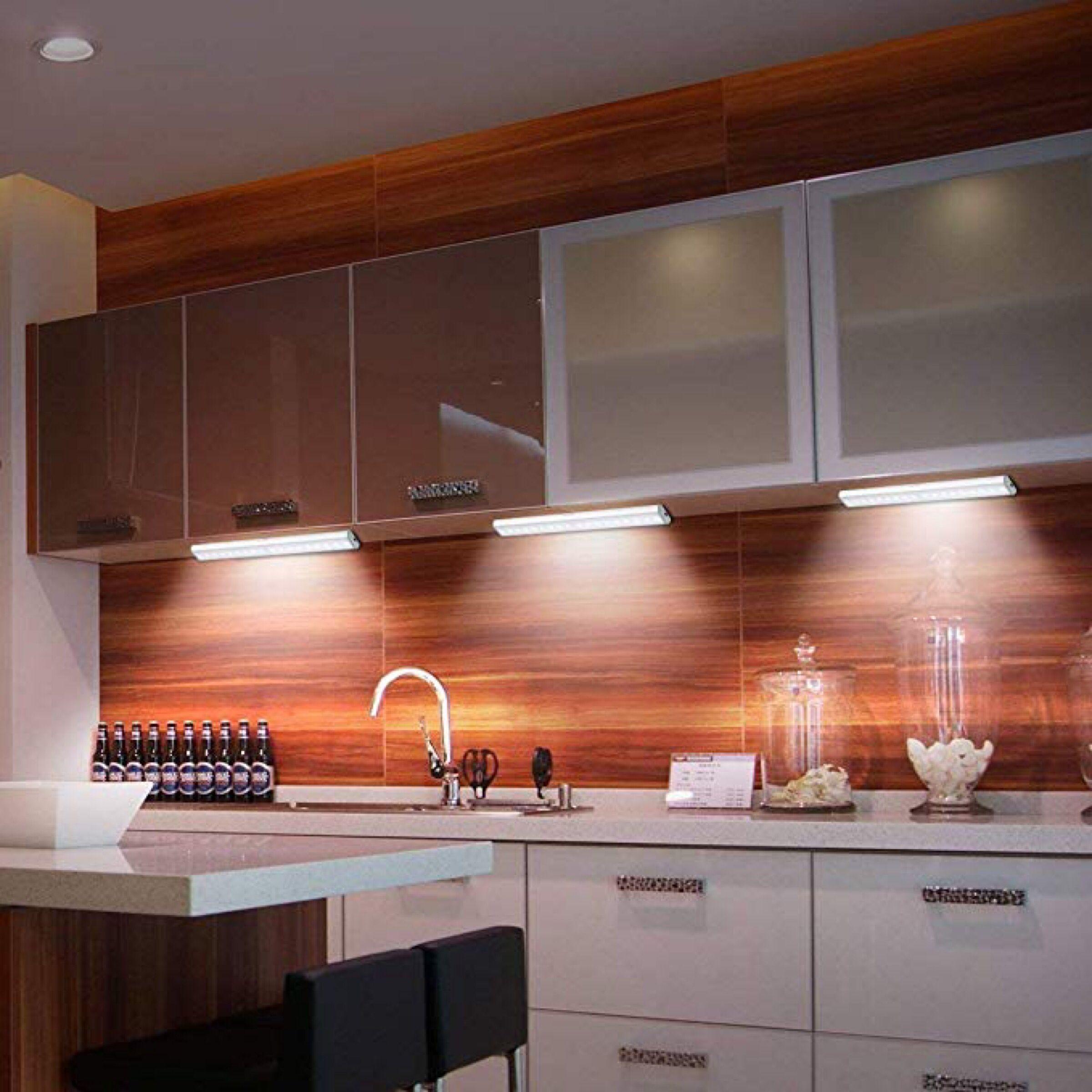 Under Cabinet Lights, 18 LED Motion Sensor Lights, Stick On Light To  Anywhere Rechargeable LED Lights, Night Light, Led Cabinet Light, Wireless  Led Closet ...
