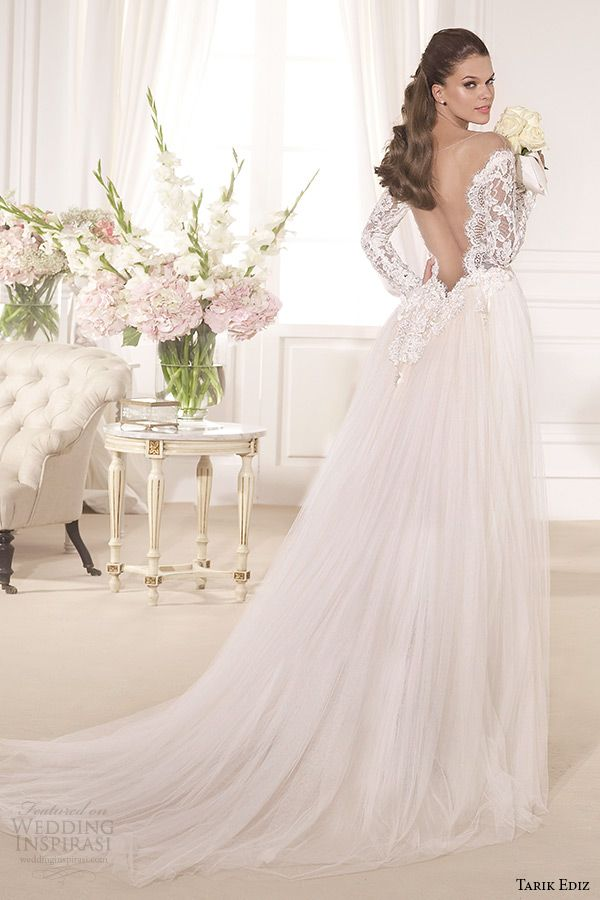 Tarik Ediz White 2017 Wedding Dresses Part 2
