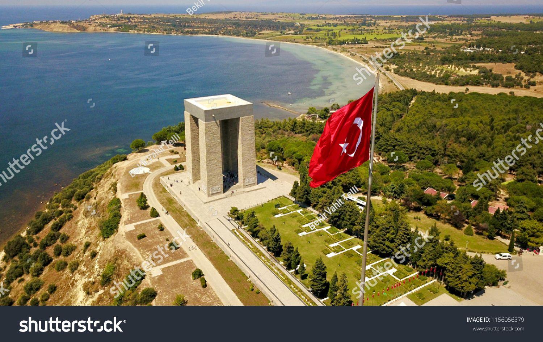 Canakkale Martyrs Monumentcanakkale Martyrs Monument Canakkale Stock Photos Gallipoli