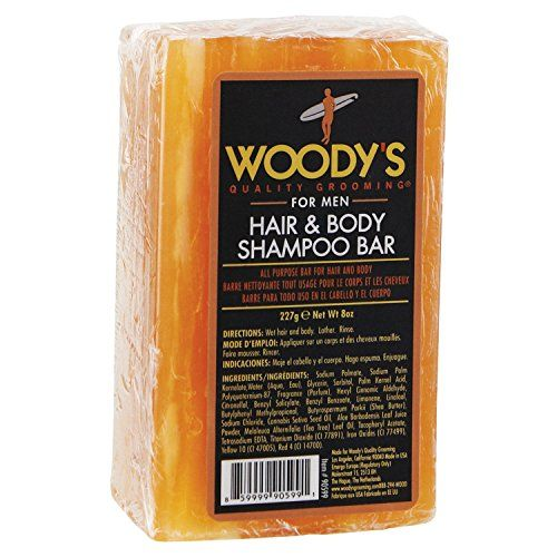 Woody's - Hair & Body Shampoo Bar 8 Oz