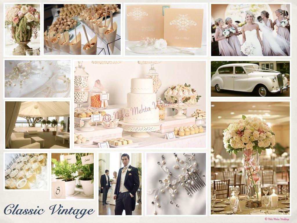 Classic Vintage Wedding Decor Retro Wedding Ideas Pinterest