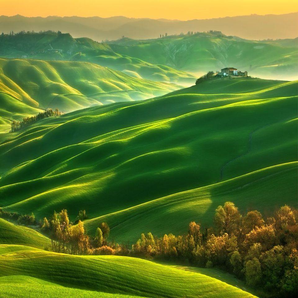 Toscane in de lente, www.tendi.nl/italie