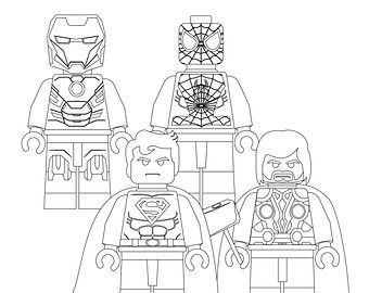 thor coloring pages to print avengerlegocoloring abc for miah pinterest thor lego and color sheets